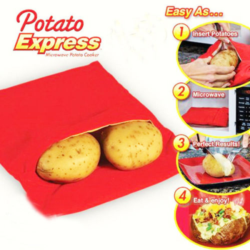 שקית לבישול תפוחי אדמה ב-4 דקות