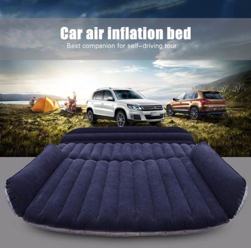 מזרון ענק מתנפח לשינה ברכב + משאבה חשמלית