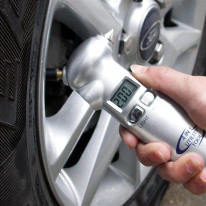 כלי רב שימושי לרכב (4 ב-1)