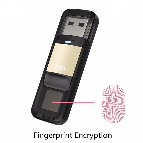 דיסק און קי 64 ג'יגה מוגן באמצעות טביעת אצבע