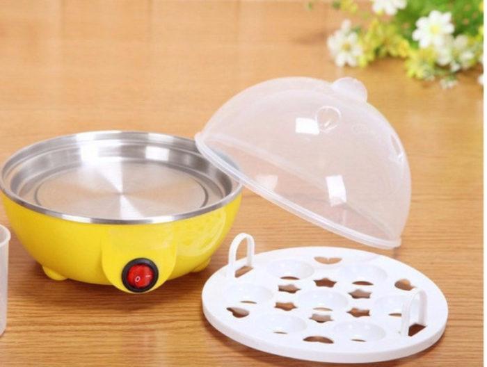 מבשל ביצים קשות חשמלי ב-10 דקות
