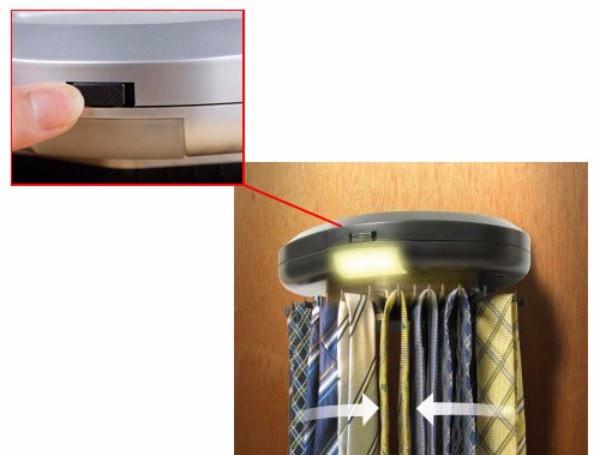 ארגונית חשמלית לעניבות וחגורות