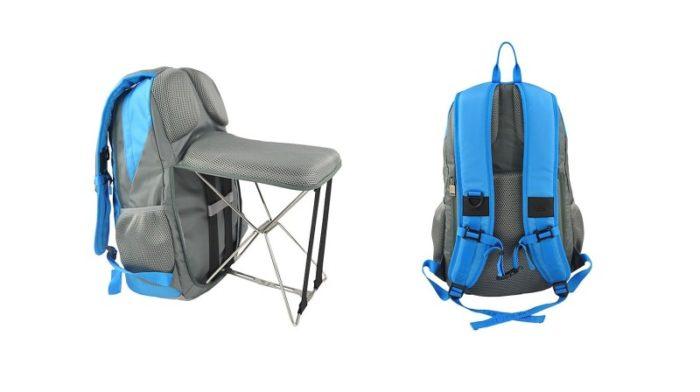 תיק גב עם כיסא מתקפל