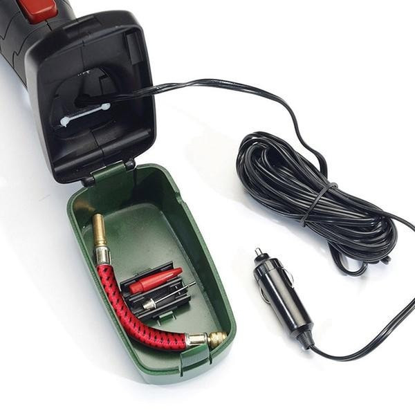 קומפרסור חשמלי למילוי אוויר דרך מצת הרכב