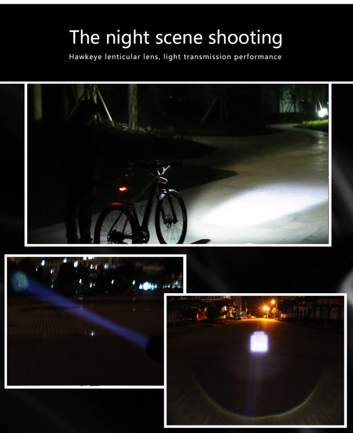 פנס עוצמתי המתחבר לכידון האופניים