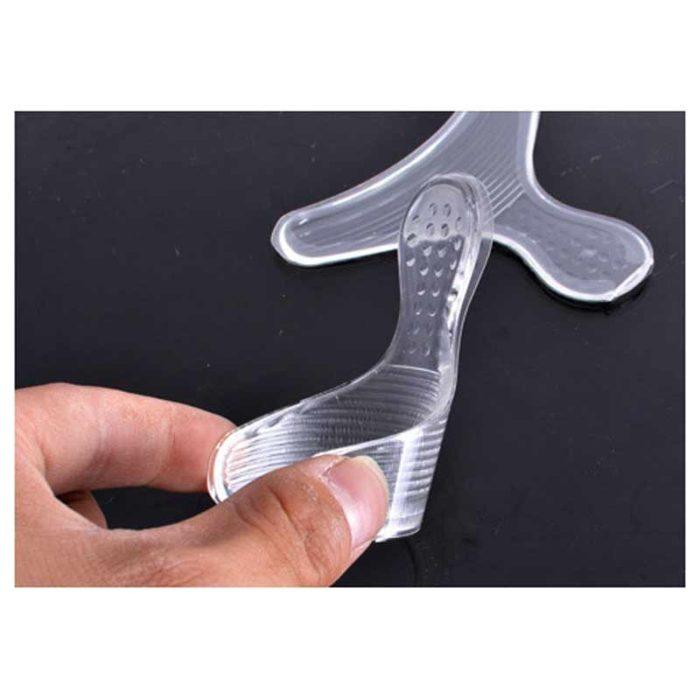 2 רצועות סיליקון לשמירה על עקב הרגל מפני שפשופים ופצעים