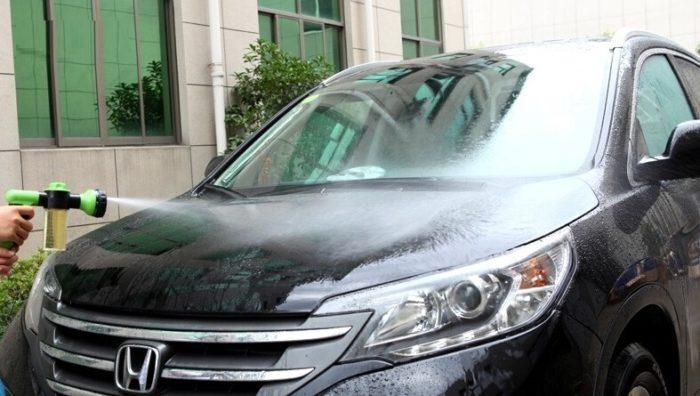 משאבת מים עוצמתית לניקיון הרכב