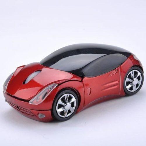 עכבר אלחוטי למחשב בצורת מכונית ספורט