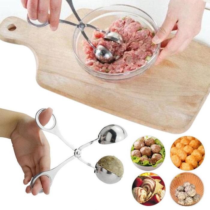 כלי נוחות להכנת כדורי בשר