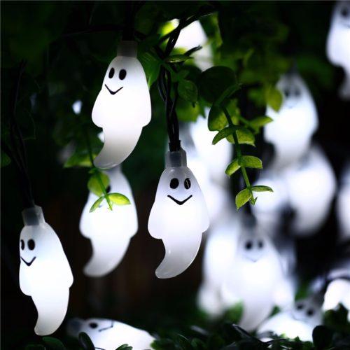 נורות סולאריות בצורת רוחות רפאים לגינה (30 יחידות)