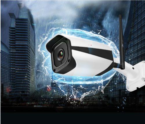 מצלמת בטיחות בהתקנה עצמית - כוללת חסינות למים, ראיית לילה וחיבור לאינטרנט