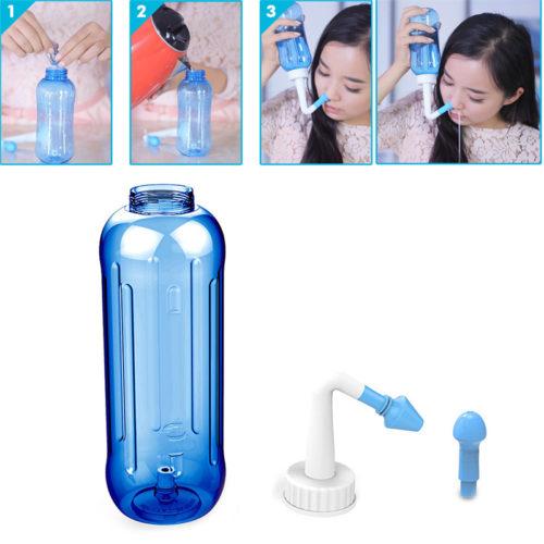 מכשיר לניקוי האף והסינונים