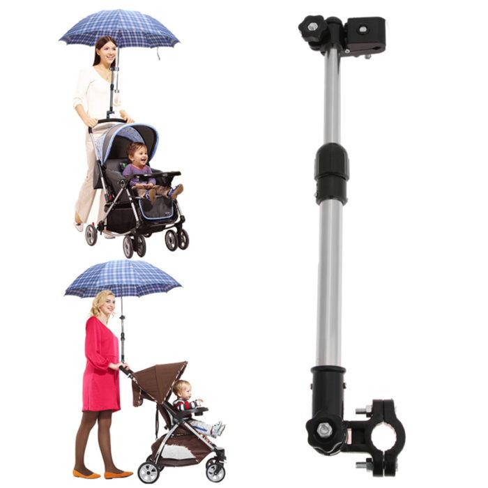 מחזיק מטריה מעל עגלת התינוק