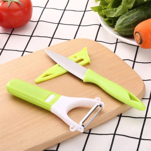 סט 6 כלים לחיתוך וקילוף פירות וירקות