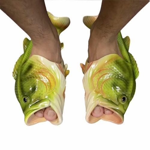 כפכפים בצורת דגים