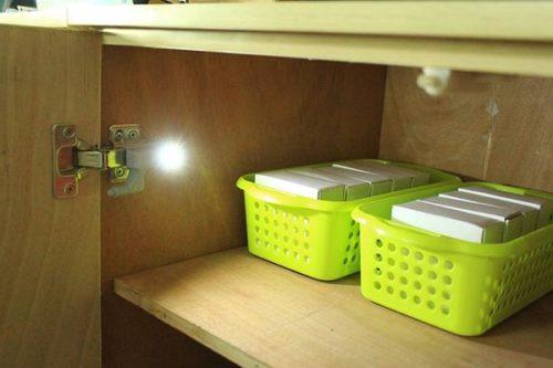 מנורות לד אוטומטיות לארונות (10 יחידות)