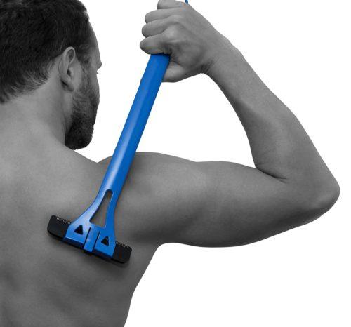 מוט לגילוח הגב/מקומות שקשה להגיע אליהם ללא מאמץ