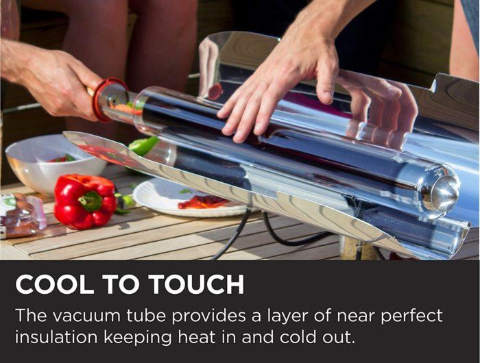 תנור סולארי נייד לטיולים