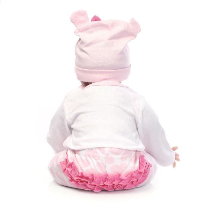 בובת תינוק סיליקון מציאותית בעבודת יד