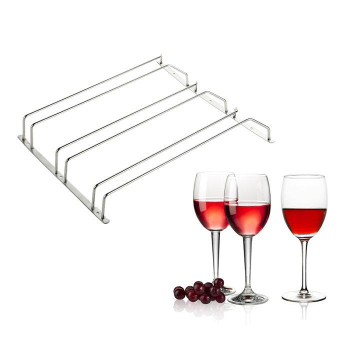 מתלה כוסות יין למטבח