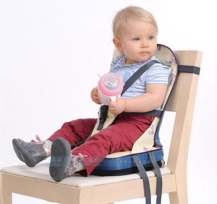כיסא הגבהה נייד לילדים