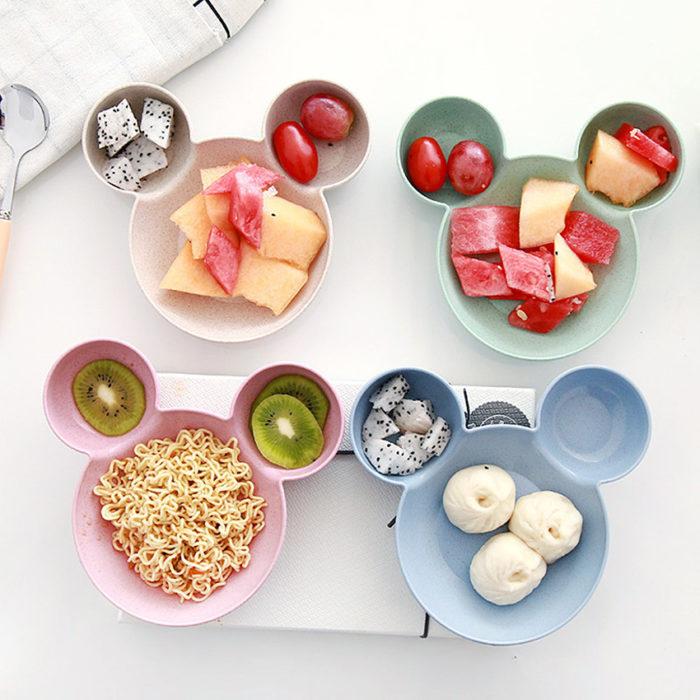 קערות אוכל בצורת מיקי מאוס