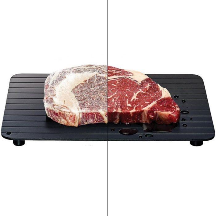 מגש מפשיר בשר ומזון קפוא במהירות וקלות