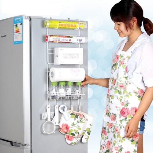 ארגונית מטבח נתלית בקלות על המקרר