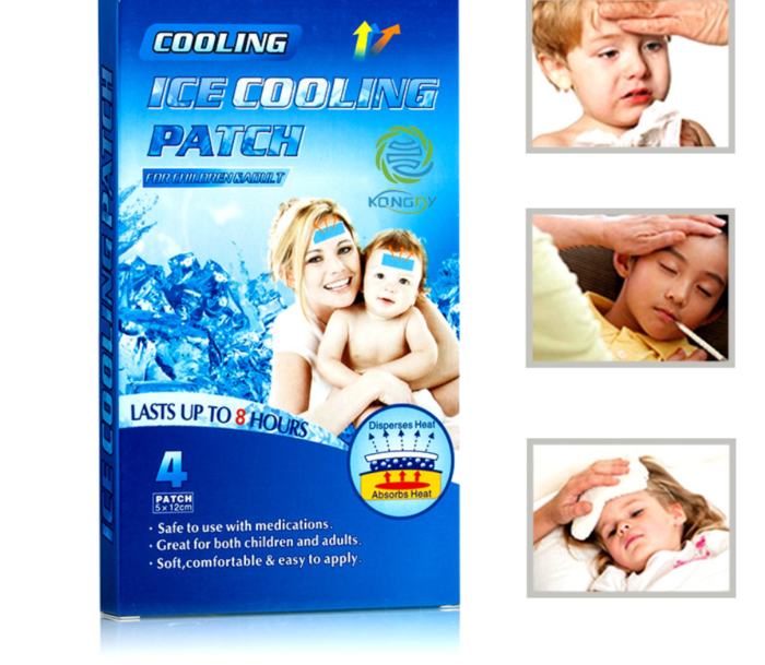 16 יח' פדי עשבי מרפא להורדת חום
