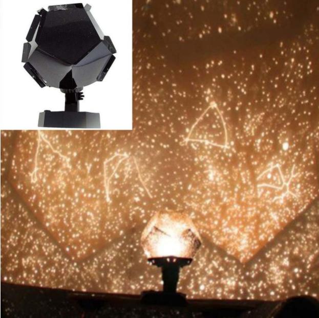 תאורת לילה בצורת כוכבים