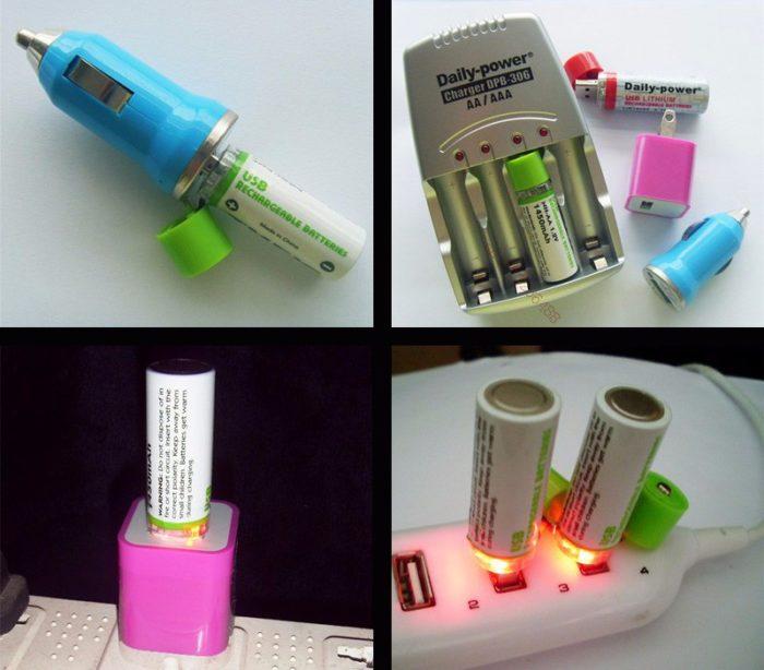סוללת USB נטענת