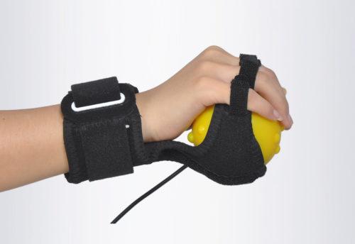 כדור עיסוי לידיים עם 3 מצבי רטט למניעת דלקות פרקים ומחלות