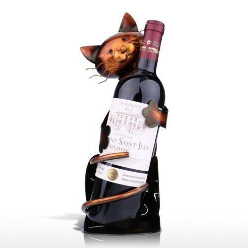 מעמד יין בצורת חתול