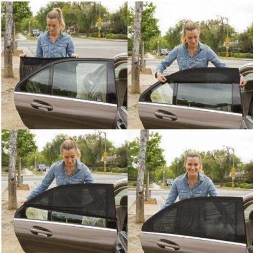 רשת הצללה לחלונות רכב (סט של 2)