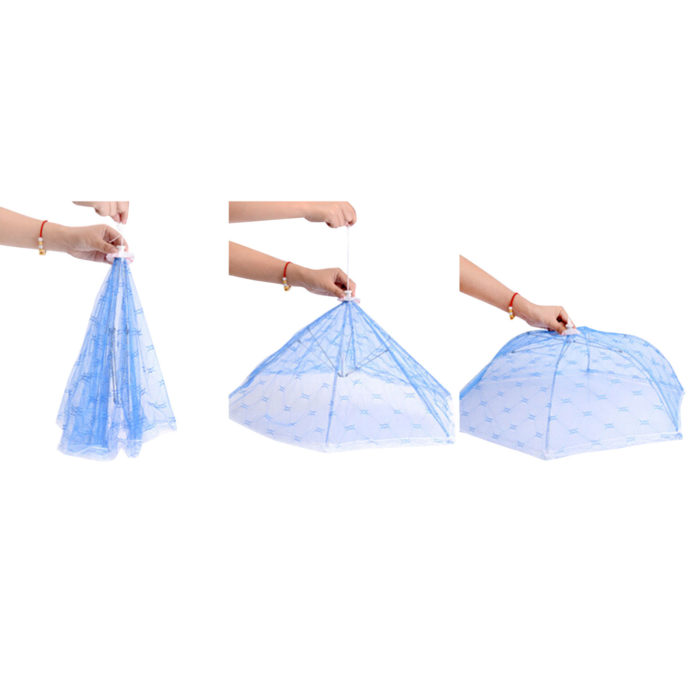 מטריית רשת לשמירה על מזון מפני חרקים