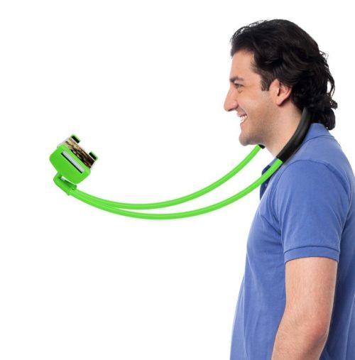 מחזיק אוניברסלי של הסמארטפון על הצוואר