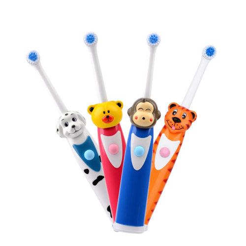 מברשת שיניים חשמלית לילדים עם דמות מצויירת