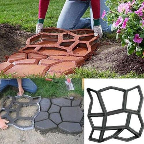 תבנית הטבעת צורות באבן בטון