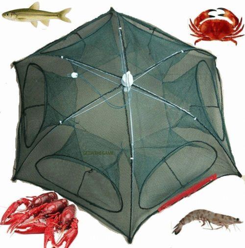 רשת מקצועית לדיג ללא מאמץ