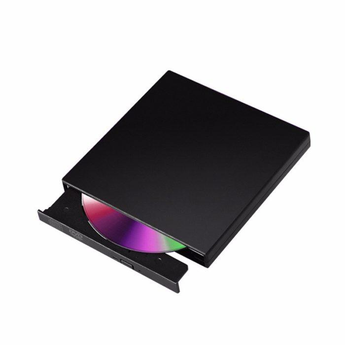כונן קורא וצורב דיסקים נייד עם חיבור USB