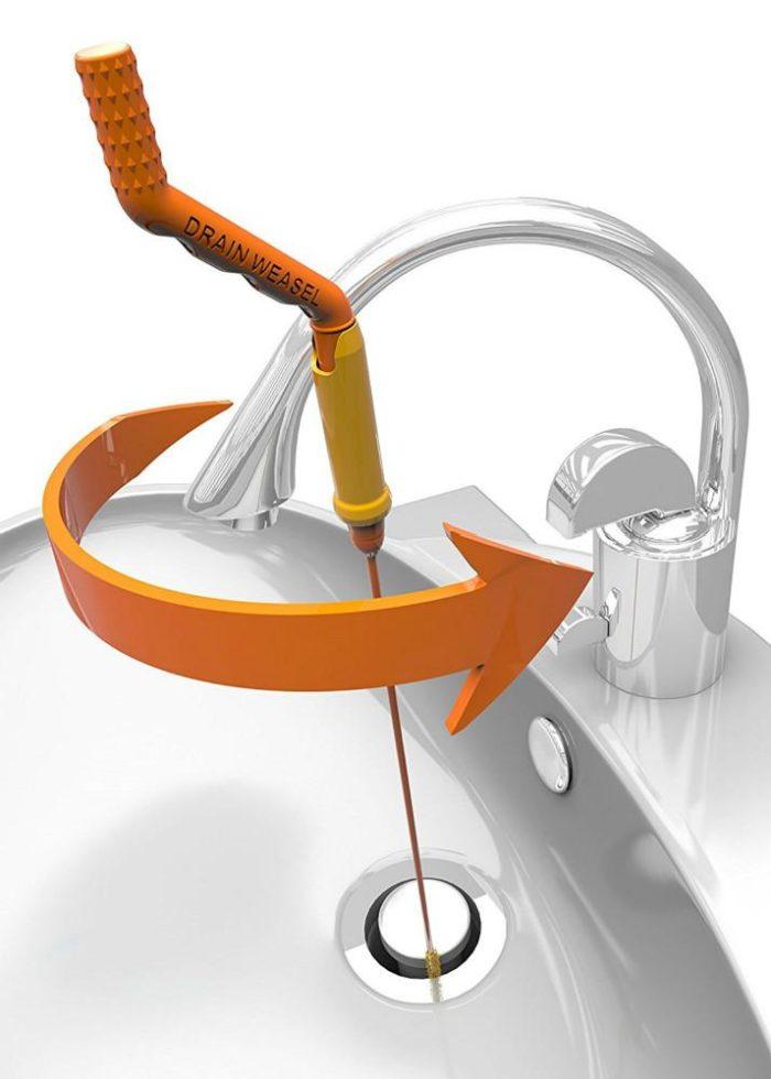 מקל גמיש לפתיחת סתימות עמוקות בצנרת