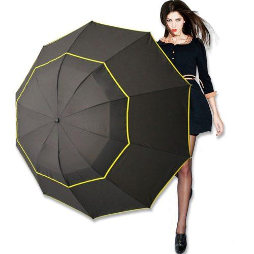 מטרייה איכותית ענקית עמידה ברוח
