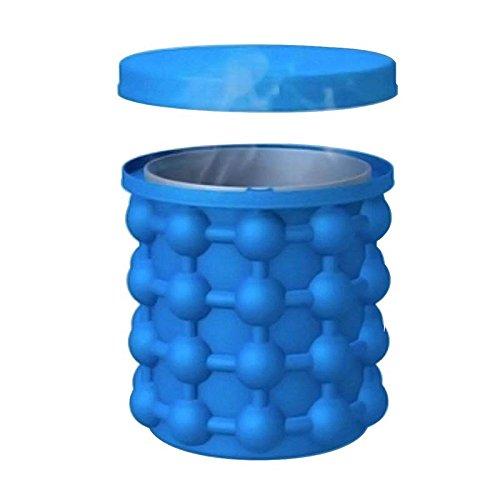 דלי סיליקון להכנת עד 120 קוביות קרח וקירור משקאות בקלות