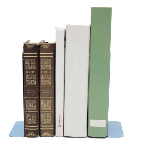 מעמד מתכת לספרים (סט של 2)