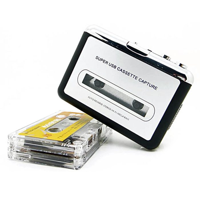 נגן / מקליט / ממיר קסטות USB נייד