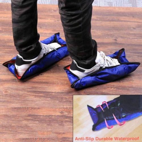 כיסוי נעליים למניעת לכלוך - עוטף בדריכה אחת