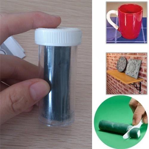דבק פלסטלינה להדבקה ותיקון מקצועיים (2 יחידות)