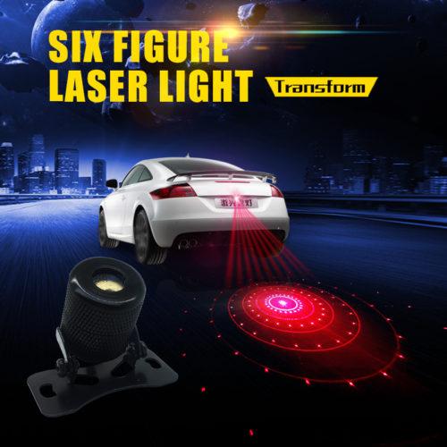 תאורת לייזר לרכב למניעת התנגשויות
