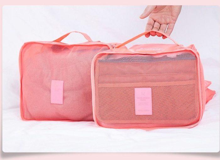 ארגוניות מזוודות לטיולים (סט של 6)