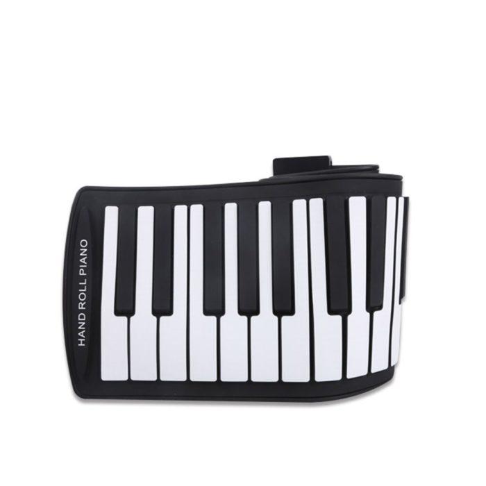 מקלדת פסנתר ניידת מתקפלת